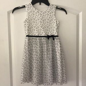 Carter's Black and White Polka Dot Dress